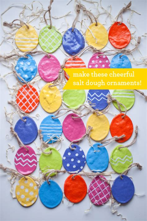 Easy Easter Decorations To Make At Home by Salt Dough Easter Eggs Easy Diy For Long Lasting Ornaments