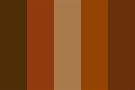 Chocolate And Palette chocolate color palette