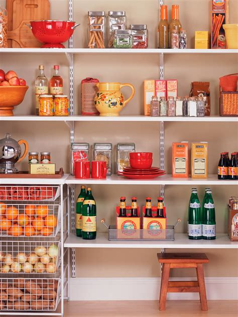 pantry organization and storage ideas hgtv