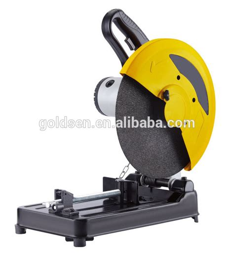 electric bench saw bench top industrial 400mm 3000w iron base steel metal