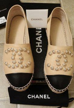 Flat Flower Channel 25 best ideas about chanel espadrilles on