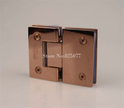 rose gold cabinet hardware rose gold 180 degree hinge open 304 stainless steel glass
