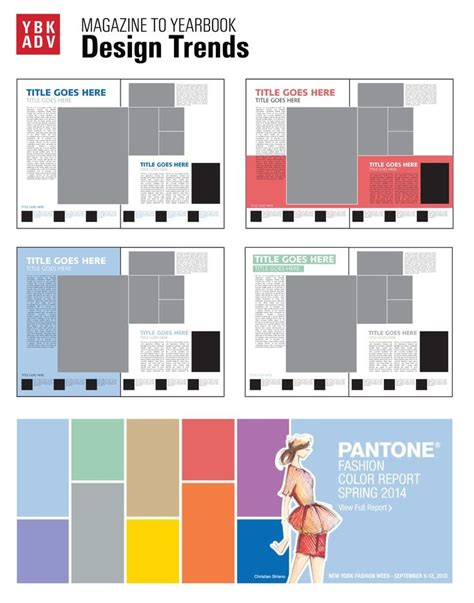 yearbook layout design rules 100 ideas to try about yearbook trends 2015 pantone
