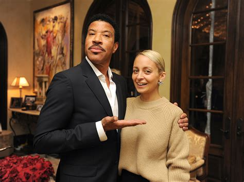 lionel richie photos photos site of nicole richie and lionel richie launches home collection with intimate
