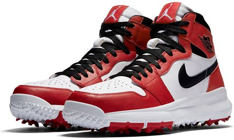 what makes a basketball shoe air now makes golf shoes that look like basketball