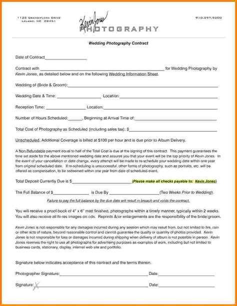 Petition Email Sle Wedding Contract Template 28 Images 16 Wedding Contract Templates Free Sle Exle 5 Free