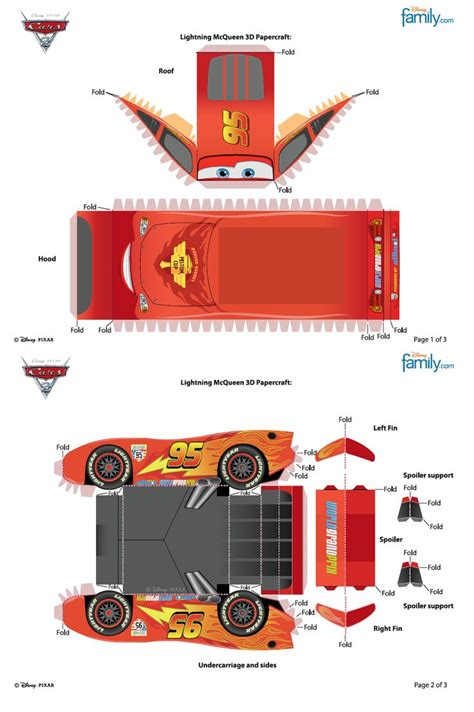 Lightning Mcqueen Papercraft - 17 best images about cubeecraft 2 on rapunzel