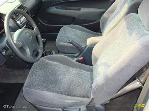 gray interior 1998 honda civic ex coupe photo 49897784