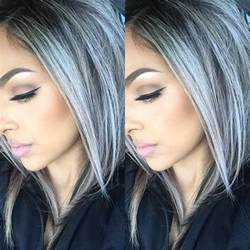 best color for gray hair 25 new gray hair color