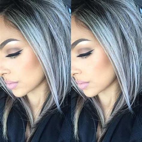 hairstyles and color for gray hair 25 new gray hair color long hairstyles 2016 2017