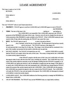 lease agreement free download