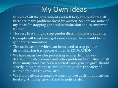 girl empowerment themes gender discrimination women empowerment