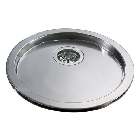 round kitchen sinks cda stainless steel round drainer kr20ss