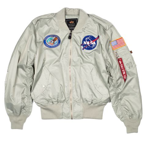 Nasa Bomber Navy nasa l 2b flight jacket styles nasa