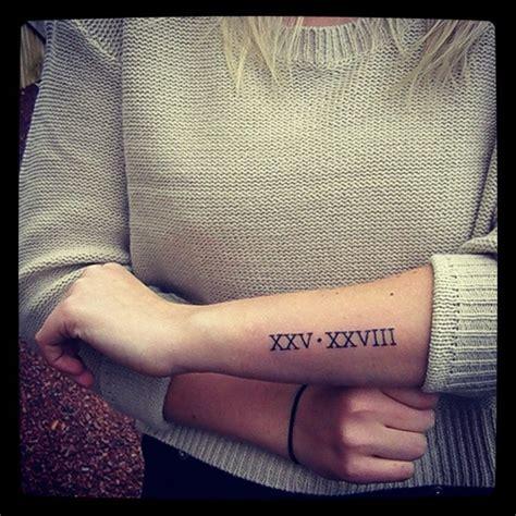 tatuajes de n 250 meros romanos origen ideas y significado