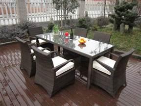Wicker Patio Furniture Set rattan garden dining sets washable resin wicker patio