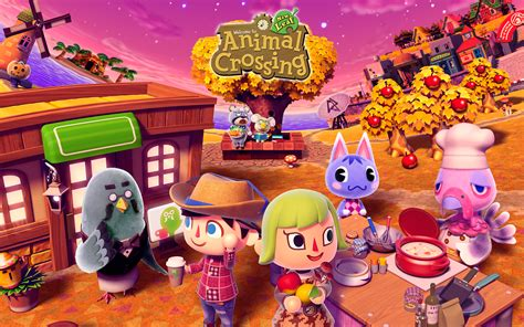animal crossing hd wallpaper  wallpapersafari