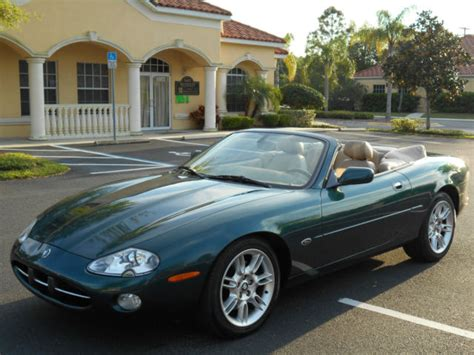 resetting windows on jaguar xk8 xk8 convertible jag racing green cashmere one owner low