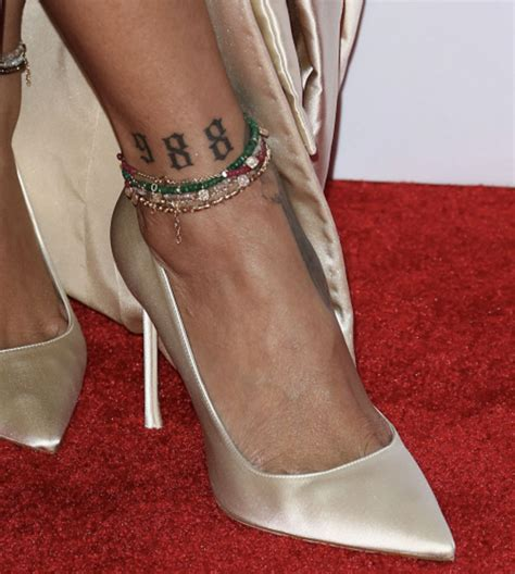 rhianna tattoo ankle chains are a thing again shop our best anklet picks