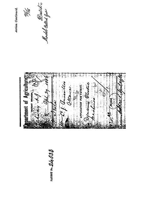 Tesla N Patente De Nikola Tesla N C0024033