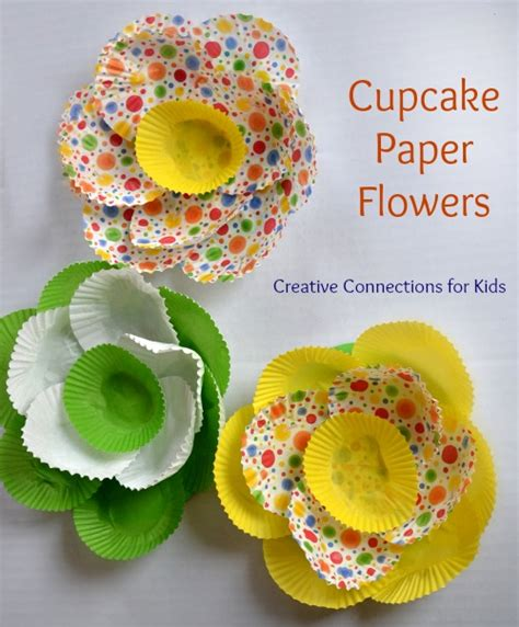 Cupcake Paper Crafts - cupcake paper flower for best of creative