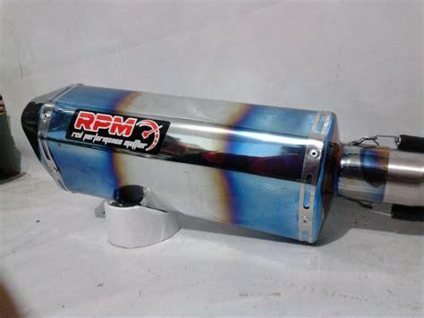 Knalpot Mufflers M17 Carbon Kevlar Yamaha R15 Dan Xabre blue prime mufflers