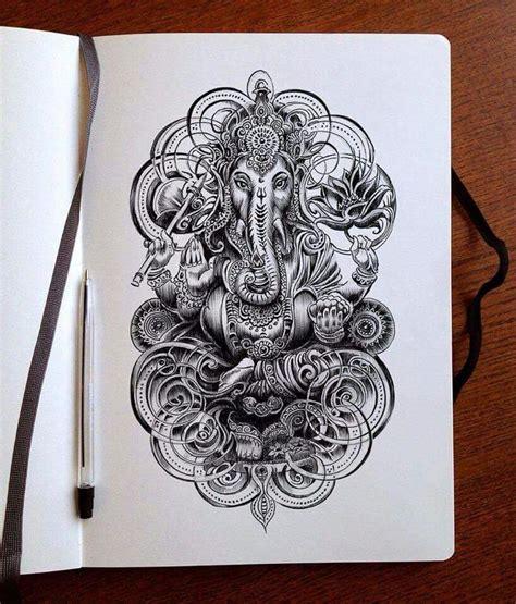 Ganesha Tattoo Klein | bennet klein tattoo pinterest