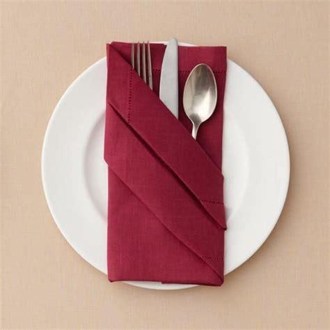 buffet napkin fold christmas napkin folding paper