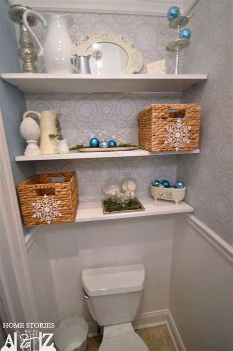 decorating ideas for bathroom shelves how to make a snowflake chandelier home stories a to z