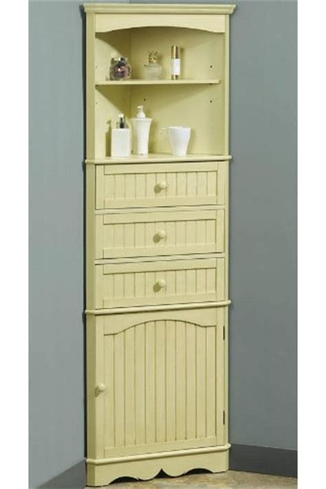 bathroom cabinets country 24 5 quot w corner linen