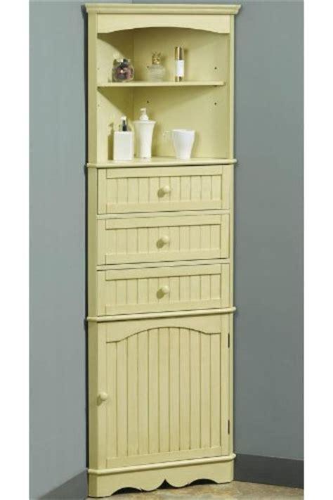 Corner Linen Cabinet by Bathroom Cabinets Country 24 5 Quot W Corner Linen