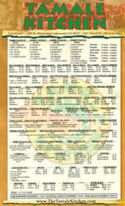 tamale kitchen menu tamale kitchen application form hairstyles