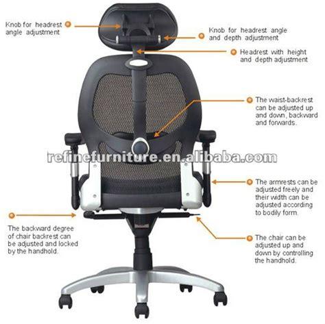 High Back Office Chair Neck Support modern design fully adjustable mesh high back ergonomic office chair with neck support and
