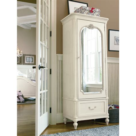mirrored armoire smartstuff gabriella mirror armoire kids armoires at