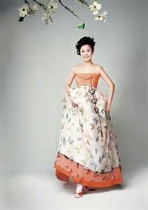 Dress modern modern twist of the traditional korean dress hanbok