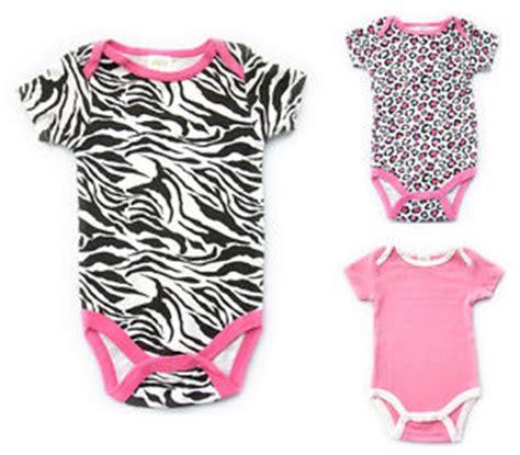 Jumpsuit Baby Pink Leopard new baby boy infant clothes zebra leopard print pink romper jumpsuit 3 9m ebay
