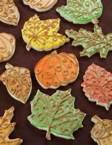 fall cookie decorating ideas fall thanksgiving cookie decorating