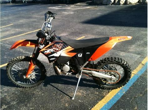 2008 Ktm 200 Xc Buy 2008 Ktm 200 Xc W On 2040 Motos