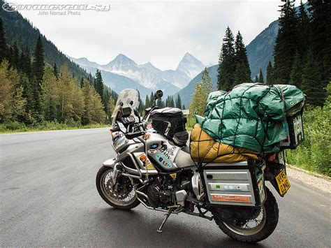 Motorrad Canada by Nomad S World Ride Return To Canada Motorcycle Usa