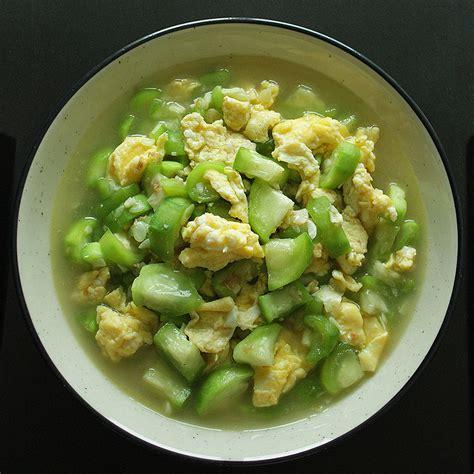 Biji Sayur Gambas resep sayur oyong misoa nikmat resep masakan komplit