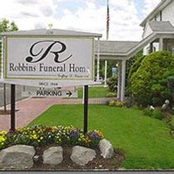 robbins funeral home funeral services cemeteries