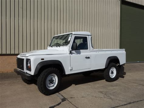 land rover pickup for sale new land rover defender 110 rhd pickup for sale mod