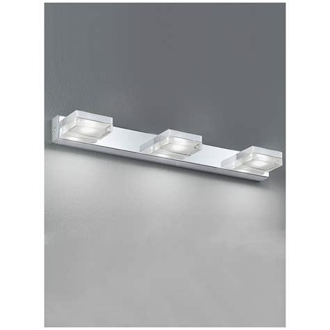 led bathroom wall lights uk franklite led 3 light bar bathroom wall light wb049 by