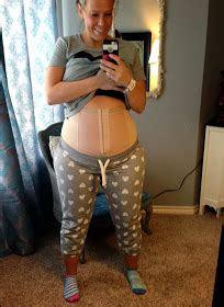 plus size c section skinny meg bellefit review and giveaway