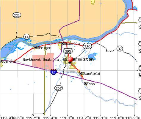 map of umatilla oregon northwest umatilla oregon or 97838 profile population