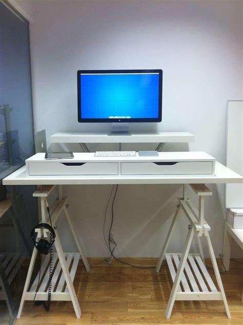 4 Astuces Pour Se Fabriquer Un Bureau Debout 224 Moindre Bureau Debout Ikea