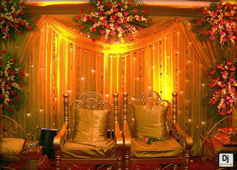 Roman Shades With Curtains - 8 stunning stage decoration ideas for indian weddings wonder wardrobes