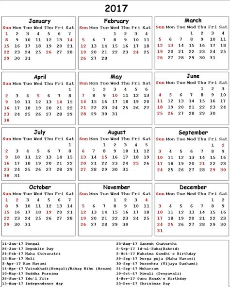 Calendar 2018 Showing Bank Holidays Get Printable Calendar 2017 Calendar With Bank Holidays