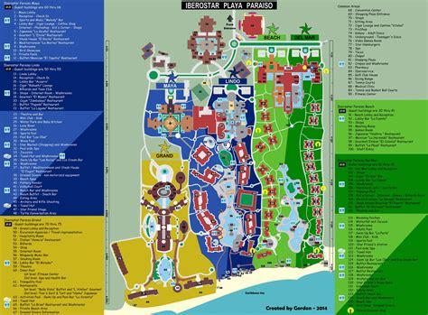 iberostar resort map iberostar paraiso maps search cancun