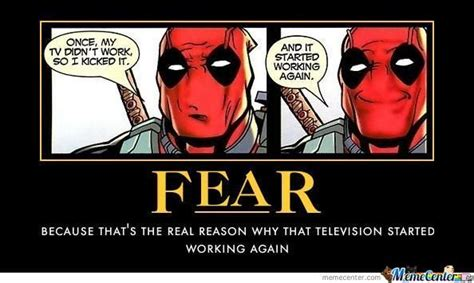 Funny Deadpool Memes - deadpool by stickginge meme center